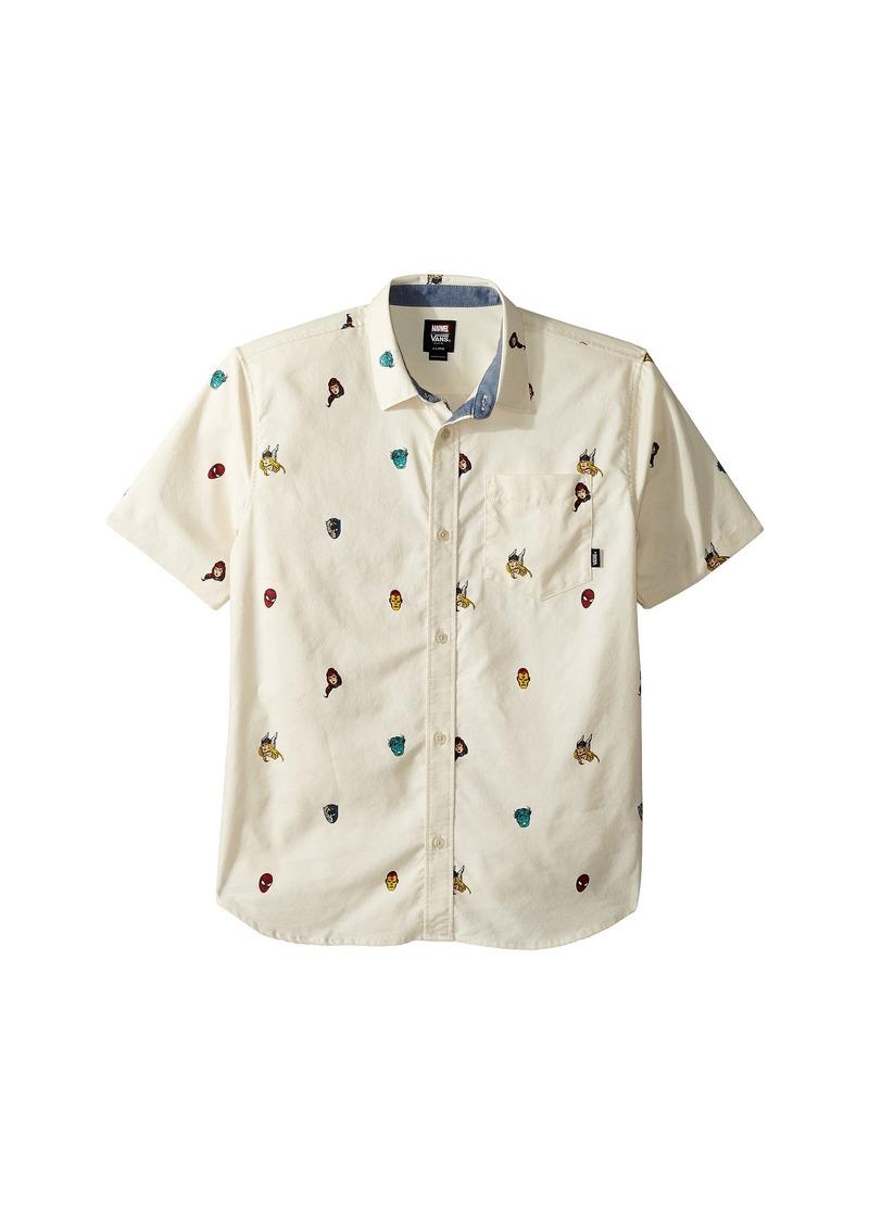 4bb10a4de Vans Vans X Marvel® Houser Short Sleeve (Big Kids) | Shirts