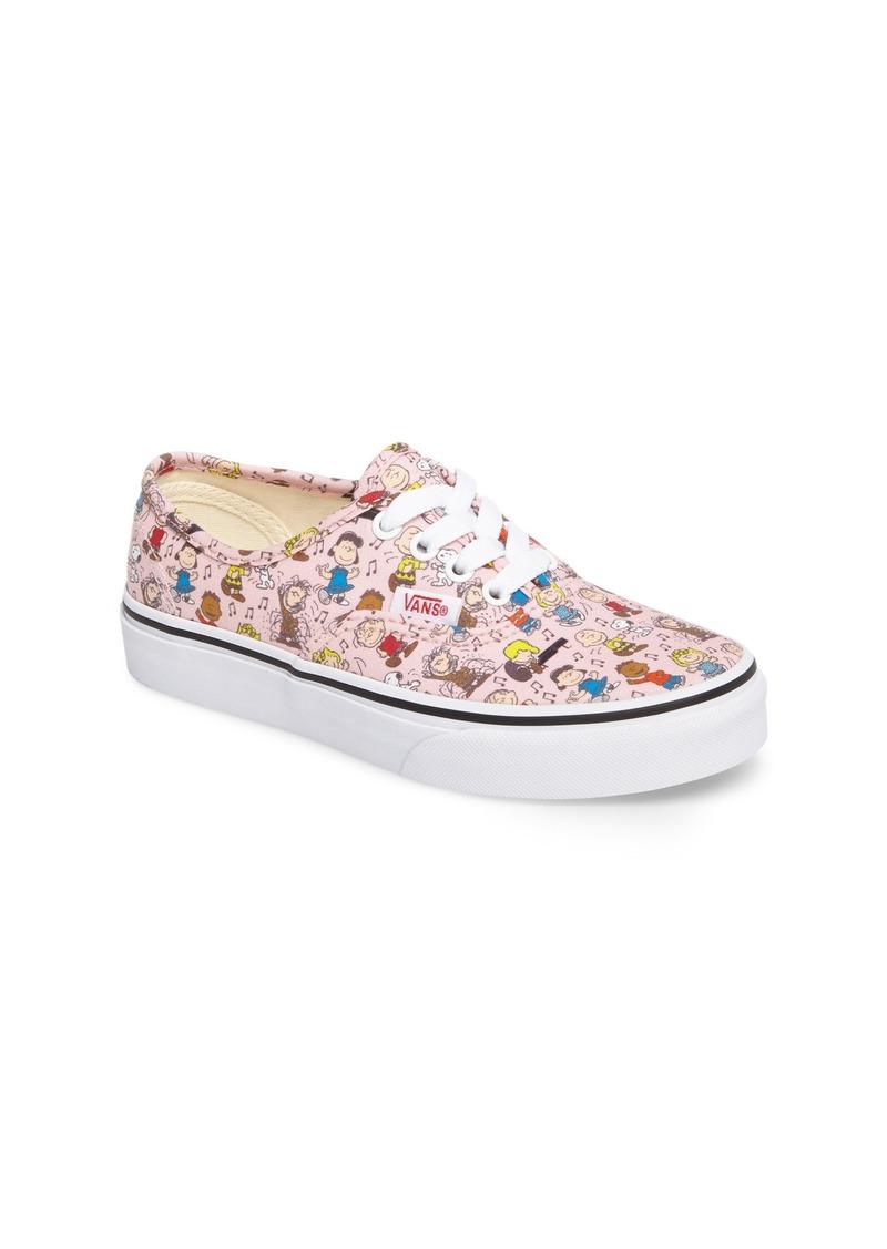 9a2963858c Vans Vans x Peanuts Authentic Low Top Sneaker (Baby