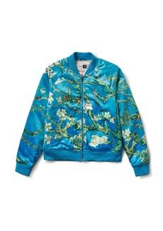 Vans x Van Gogh Museum Almond Blossom Satin Bomber Jacket