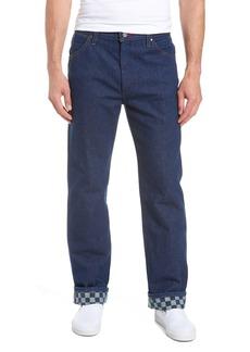 Vans x Wrangler Straight Leg Jeans (Prewash Indigo)