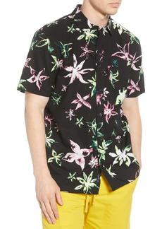 Vans West Street Floral Short Sleeve Button-Up Shirt
