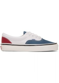 Vans White & Blue Anaheim Factory Era 95 DX Sneakers