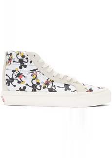 Vans White Geoff McFetridge Edition OG SK8-Hi LX High-Top Sneakers