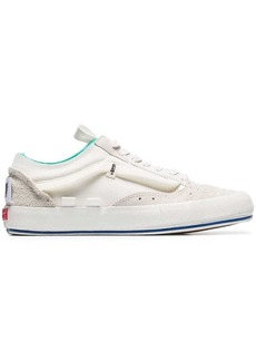 Vans White Old Skool Rework suede low-top sneakers