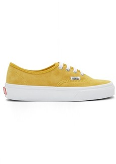 Vans Yellow Suede Authentic Sneakers