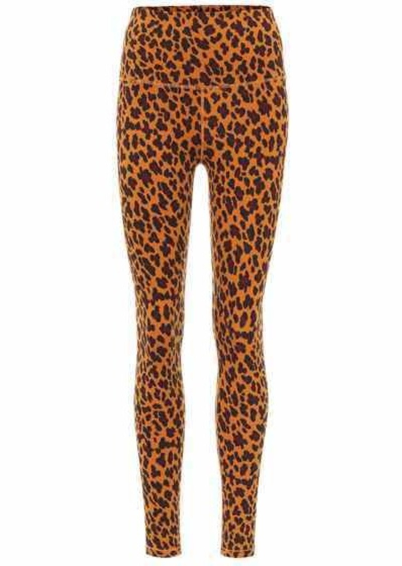 Century cheetah-print leggings