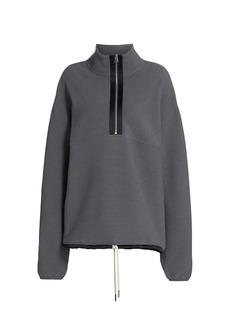 Varley Harding Ribbed Half-Zip Sweatshirt