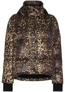 Varley Highland jaguar print puffer jacket