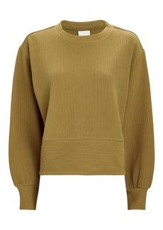 Varley Maybrook Rib Knit Sweatshirt