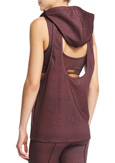 Varley Ashland Sleeveless Open-Back Sport Hoodie