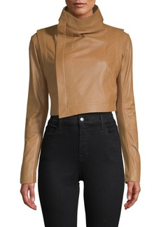 Veda Mad Max Cropped Moto Jacket