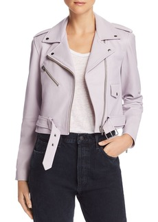 Veda Baby Jane Smooth Leather Moto Jacket - 100% Exclusive