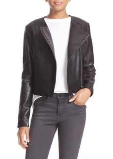 Veda 'Dali' Lambskin Leather Jacket