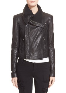 Veda 'Max Classic' Leather Jacket