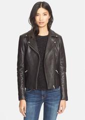 VedaDallas Lambskin Leather Jacket