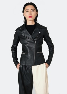 Veda Dallas Smooth Leather Jacket
