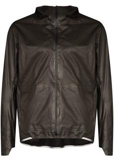 Veilance hooded zipped jacket