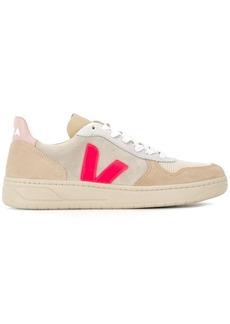 VEJA V-10 colour-block sneakers