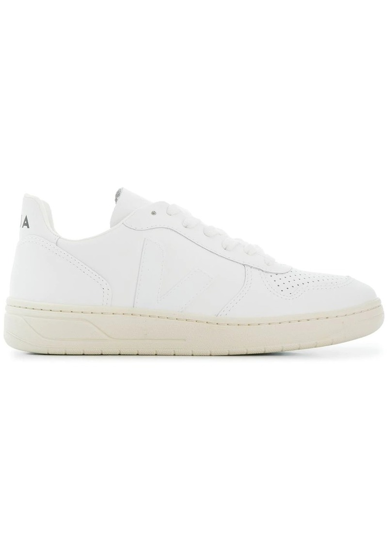 VEJA V-10 perforated sneakers