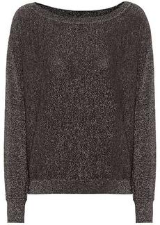 Velvet by Graham & Spencer Abril metallic sweater