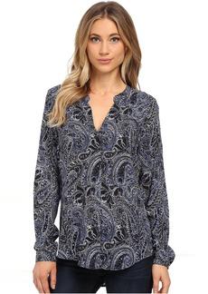 Velvet by Graham & Spencer Adal Long Sleeve Peasant Shirt