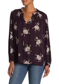 Velvet by Graham & Spencer Adanya Floral Challis Blouse