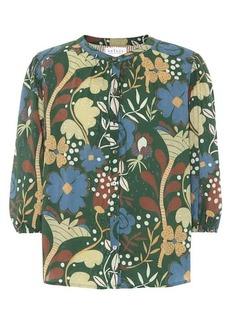 Velvet by Graham & Spencer Affie floral cotton top