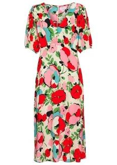 Velvet by Graham & Spencer Alisha floral midi dress
