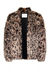 Velvet by Graham & Spencer Anne faux fur jacket