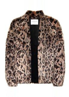 Velvet by Graham & Spencer Anne faux fur jacket