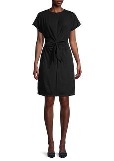 Velvet by Graham & Spencer Belted Front Twist Dress