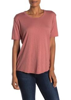 Velvet by Graham & Spencer Blanca Short Sleeve Slub T-Shirt