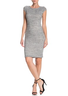 Velvet by Graham & Spencer Brushed Cap Sleeve Bodycon Dress