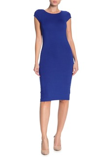 Velvet by Graham & Spencer Cap Sleeve Bodycon Dress