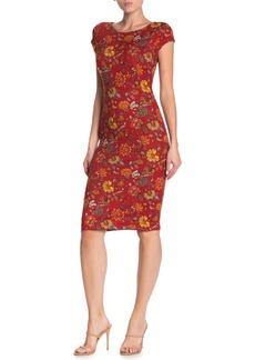 Velvet by Graham & Spencer Cap Sleeve Bodycon Dress
