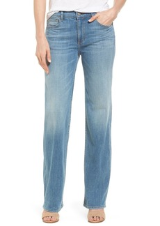 Velvet by Graham & Spencer Cara High Rise Straight Leg Jeans