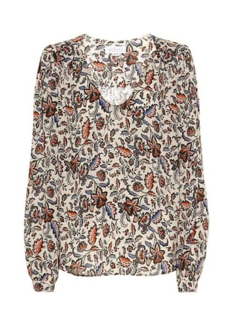 Velvet by Graham & Spencer Carly floral blouse