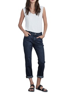 Velvet by Graham & Spencer Christy High Rise Boyfriend Jeans