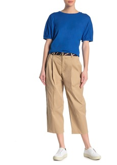 Velvet by Graham & Spencer Crop Pleated Pants