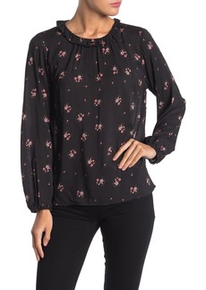 Velvet by Graham & Spencer Destry Floral Print Blouse