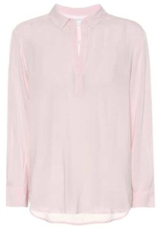 Velvet by Graham & Spencer Eliza crêpe shirt