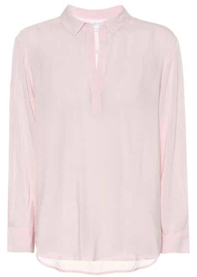 Velvet by Graham & Spencer Eliza crêpe shirt