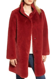 Velvet by Graham & Spencer Faux Fur Reversible Coat