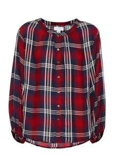Velvet by Graham & Spencer Fern plaid shirt