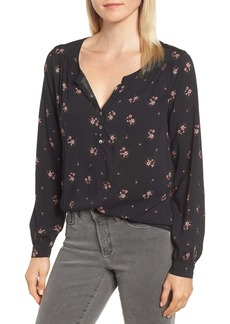 Velvet by Graham & Spencer Floral Challis Blouse