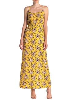 Velvet by Graham & Spencer Floral Print Tank Slip Dress