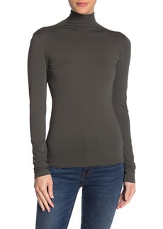 Velvet by Graham & Spencer Gauzy Whisper Turtleneck Top