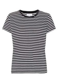 Velvet by Graham & Spencer Hadley striped cotton-blend T-shirt