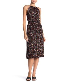 Velvet by Graham & Spencer Halter Print Midi Dress