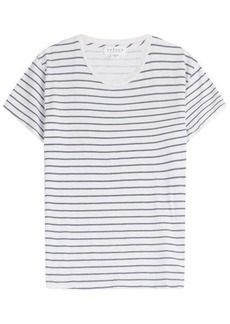 Velvet by Graham & Spencer Henni Striped Cotton T-Shirt